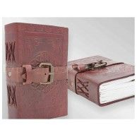 Small Leather Diary - $35 - Excellent for dark secrets. A lot of them, judging by the thickness of this book.