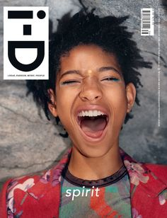 The Coming of Age Issue No. 338 Pre-Fall 2015 Willow Smith by Tyrone Lebon Willow Smith, Dark Man, Tyrone Lebon, Id Magazine, Black Magazine, Magazine Design, Magazin Covers, Fashion Cover, Urban Fashion