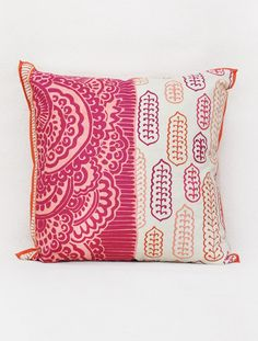 Mohuz Print Cushion Cover - 16in x 16in