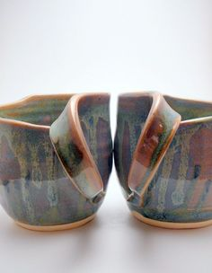 Mugs for a Mixed Marriage by agru on Etsy