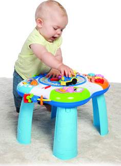 Stolik edukacyjny dla dzieci SMILY PLAY - hitcena.pl Toddler Age, Toddler Toys, Cool Tables, Pre Kindergarten, Play Centre, Adventure Activities, Good Notes, Polka Dots, Train