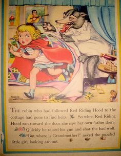 "1941 ""Little Red Riding Hood"", illustrated by Mildred Wetmore"