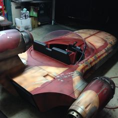 #Star Wars landspeeder