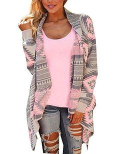 64e80b1ac15 Ariamark Women s Cardigan Sweater Jacket Cape Cloak knit poncho Outwear  Cover up