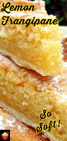 Lemon Frangipane. This is a really nice coffee time cake to make. Goes great with a nice cup of tea! Or you can have as a dessert, warm or cold with a squirt of whipped cream or like me, a blob of vanilla ice cream! It's really yummy! Delicious! Orange Recipes, Lemon Recipes, Fruit Recipes, Sweet Recipes, Baking Recipes, Tart Recipes, Pudding Recipes, Lemon Desserts, Cookie Desserts