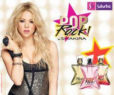 Hola México! Hoy te queremos presentar las tres fragancias de Shak inspiradas en sus fans #PopRock, #LoveRock y #Rock! Ya disponibles en Suburbia! Para más información pueden ingresar en http://www.shakira-beauty.com/ ShakHQ