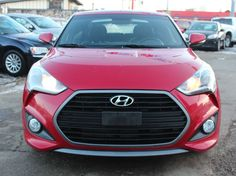 2016 Hyundai Veloster Turbo FULLY LOADED Red, turbo-charged, fully-loaded with low mileage! It's the perfect time for the perfect car. Veloster Turbo, Hyundai Veloster, Used Hyundai, Hyundai Cars, Cruise Control, Looking To Buy, Car Ins, Used Cars, Keyless Entry