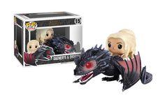 Daenerys & Drogon - Game of Thrones - Funko Pop! Ride