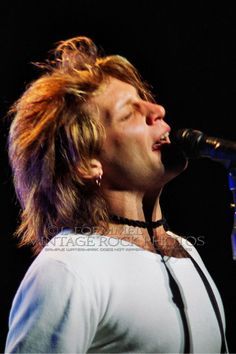 cool artwork of jon bon jovi | Details about Jon Bon Jovi 20x30 inch Fine Art Gallery Canvas Studio ...