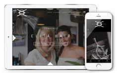Elita Hair fait confiance à l'agence Web4 pour la création de son nouveau site web www.elitahair.ch en ligne maintenant! Site Web, Creations, Father, Selfie, Tops, Self Confidence, Baby Born, Fishing Line, Simple