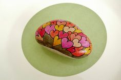 Pebbles of Portugal ~ collected on the beaches around Cascais and hand painted by Sabine Ostermann www.facebook.com/...