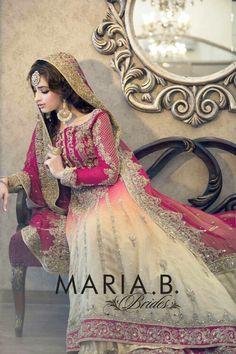 Maria B bridal dress - ombre