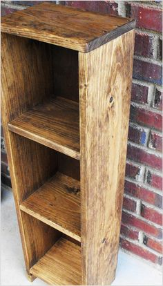 Bookcase Shabby or Traditional Finish  Storage Tower