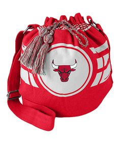 Take a look at this Chicago Bulls Ripple Drawstring Bucket Bag today!