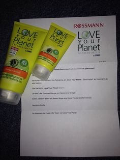 Love your planet Duschgel und Handcreme #rossmann #loveyourplanet