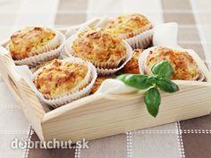 Slaninové muffiny s cibuľou