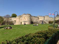 Château de Caen à Caen, Basse-Normandie