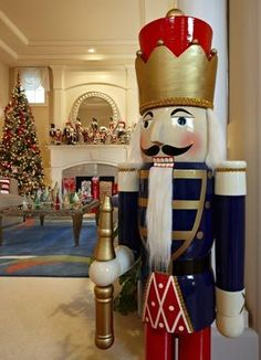 5 Foot Tall Christmas Nutcracker::Every home should have one!