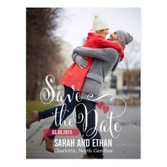Lovely Request Save The Date Postcard