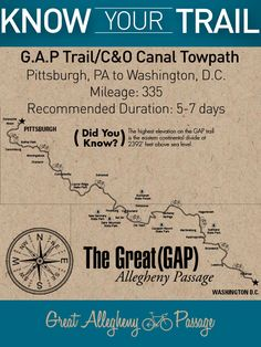 The Great Allegheny Passage and C&O Canal bike trail offer one of the best bike vacations out there. With plenty of trail towns along the way, accomodations for lodging, bike repairs, and camping are abundant. Mountain Bike Shoes, Mountain Biking, Noragami, Black Butler, Tokyo Ghoul, Bicycle Safety, Bicycle Tools, Bike Path, Road Bike
