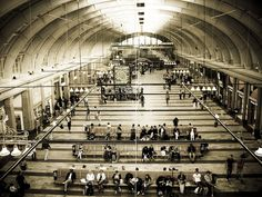 With over 250,000 visitors daily, the Stockholm Central Station, opened in 1871, is the largest railway station in Sweden and also the largest travel centre in the Nordic region.