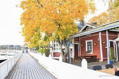 Harbour in Naantali, Finland.   qandvictoria.wordpress.com