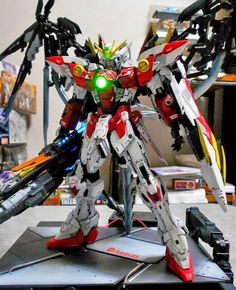 GUNDAM GUY: MG 1/100 Wing Gundam Proto Zero Customized Build - GBWC 2014 (Japan) Entry Preview