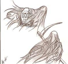 Grim reaper Take me NOW by Tarryn-Strydom.deviantart.com on @DeviantArt