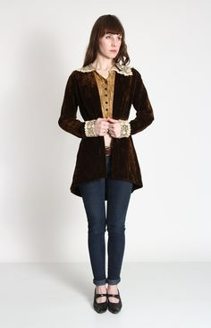 Antique Velvet Jacket 1800s Victorian by VeraVague on Etsy, $450.00