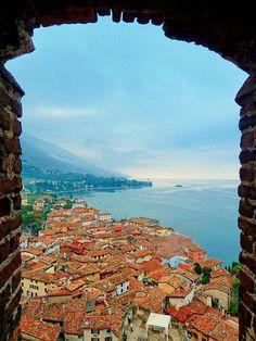 Malcesine, Lake Garda, Sogno Italiano Alpine Forest, Lake Garda Italy, Oriental, Photography Supplies, Italian Life, Northern Italy, Lake Como, Lake District, Travel Goals