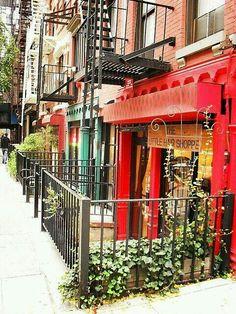 Greenwich village → NY