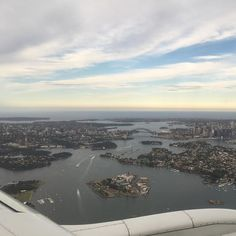 Standard window seat landing-inbound shot to prove you had a window seat and how precious you are of this great city when not in traffic paying for parking or over priced food & drink. #Sydney #sydneyharbourbridge #sydneyoperahouse #sydneyharbour #mosman #balmain #cockatooisland #boats #northsydney #pyrmont #walshbay  #woolwich #cremorne by thecultureshop_sydney http://ift.tt/1NRMbNv