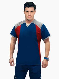 COMPRAR Scrubs Uniform, Men In Uniform, Medical Uniforms, Medical Scrubs, Polo Ralph Lauren, Mens Fashion, Tank Tops, T Shirt, Jackets