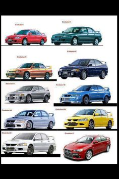 The Evolution of The Evolution   #evo #Evolution #mitsubishi #mitsu #mitsuevo