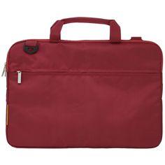 Wintec Filemate ECO 17-in G230 Laptop Carrying Bag- Dark Red