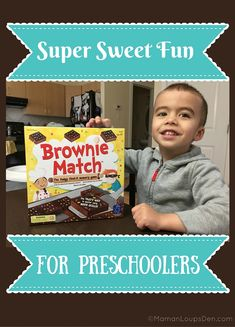 Brownie Match Game: Super Sweet Fun for Preschoolers