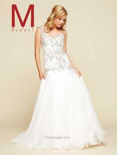 Ivory Ball Gown | Mac Duggal 65262H