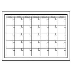 Wall Pops - Wall Pops Peel & Stick Dry Erase White Monthly Calendar - - Home Depot Canada Bullet Journal Headers, Bullet Journal Banner, Bullet Journal Notebook, Bullet Journal Ideas Pages, Bullet Journal Inspiration, Dry Erase Calendar, Calendar Wall, Blank Calendar, Journaling