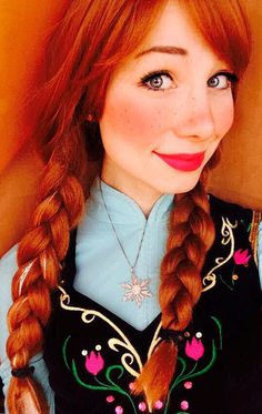 Frozen Anna by Sarina Rose  #frozen #anna #disney #cosplay #photograpgy #frozen anna