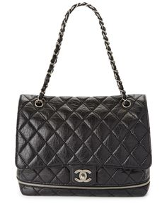 Spotted this Chanel Black Bubble Quilted Leather Shoulder Bag on Rue La La. Shop (quickly!).