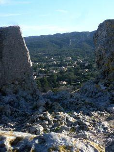 Eygalieres view to Les Alpilles