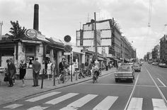 1960's. Kinkerstraat in Amsterdam. #amsterdam #1960 #kinkerstraat