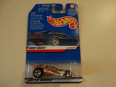 HOT WHEELS 1998 #13 OF 36 SURF CRATE HOT ROD #HotWheels