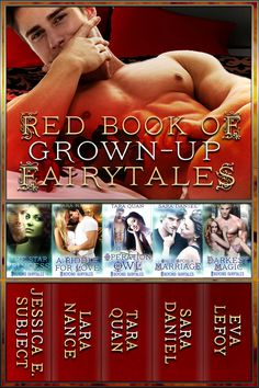 #NewRelease - Red Book of Grown-Up #Fairytales (a #99Cent #BoxSet with my @DecadentPub #Romance, Operation Owl) — Tara Quan