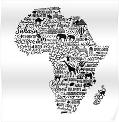 African Travel And Tour Key: 1385171279 Mombasa, Casablanca, South Africa Map, Africa Art, Accra, Nairobi, Afrika Festival, Afrika Tattoos, Africa Quotes