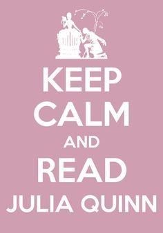Read Julia Quinn - My favorite author! And author of my favorite book ROMANCING MR. BRIDGERTON.