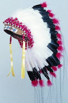 Sioux Warbonnet Kit Pow Wow Tribal Craft by rainbownativetraders, $37.95