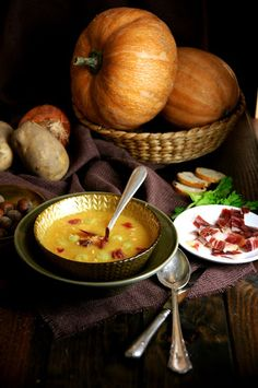 Crema de carbassa. Pumpkin crème. Fondue, Cheese, Ethnic Recipes, Chowder