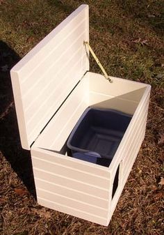 Pet Furniture Litter Box Covers...wonder if I can convince someone to make me one...awesome idea!!