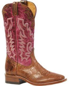 Boulet Puma Cowgirl Boots - Square Toe